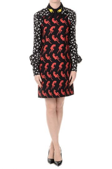 CADY Viscose Printed Dress