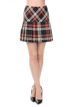 Cotton Tartan Skirt