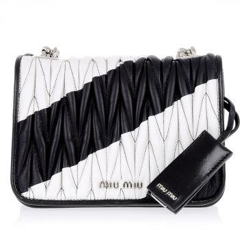 Leather BANDOLIERA  Mini Bag