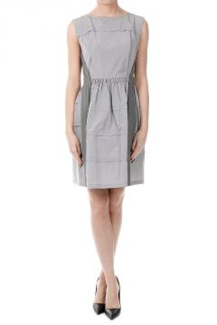 Flared Sleeveless Dress