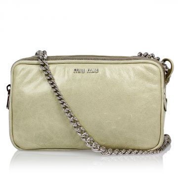 Mini Shoulder Bag with Chain
