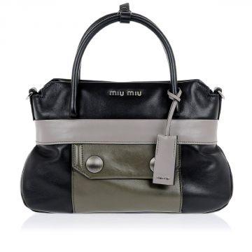 Mini Leather shopping Hand Bag