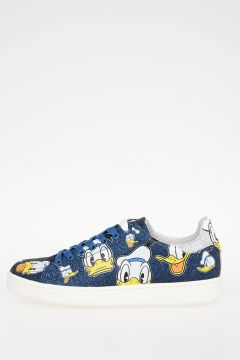 Disney Donald Duck glitter Leather Sneakers