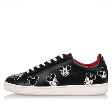 Sneakers Disney in Pelle con Topolino Ricamato