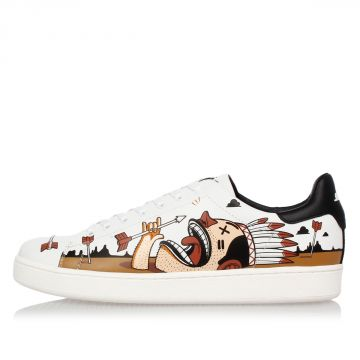 Sneakers MR THOMAS a Fantasia in Pelle