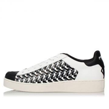Sneakers OPTICAL In Pelle