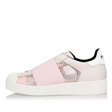Sneakers in Pelle  slip On