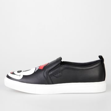 DISNEY Sneakers Slip On in Pelle Stampate