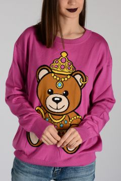 COUTURE TEDDY BEAR Cotton Sweater