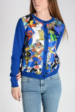 COUTURE! Cashmere Blend & Silk LOONEY TUNES Sweater