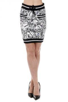 Comics Printed Skirt