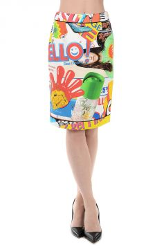 Cotton Blend POWERPUFF Skirt
