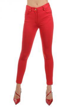 Pantaloni in modal elasticizzato