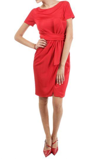Elastic Dress with ribbon