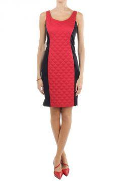 Bicolor Elastic Dress