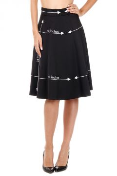 Embroidery Skirt OSCHNO COUTURE