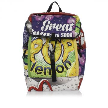 POP SODA Printed Backpack