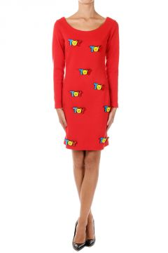 Toy pin Pencil Dress