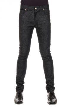 Jeans Straight Leg Denim Stretch 16 cm