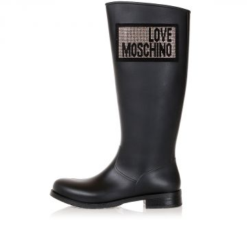 LOVE MOSCHINO Rubber Rain Boots