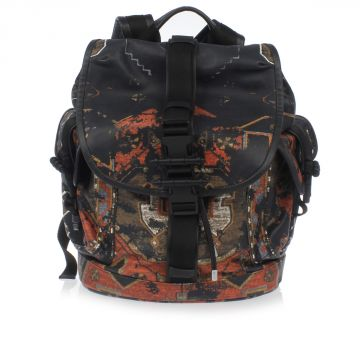 OBSEDIA Printed Lamb Leather Backpack