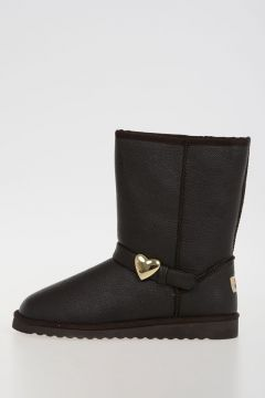 LOVE MOSCHINO Faux Leather Boots