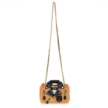Shoulder Bag with Gold Chain