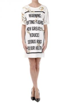 Over T-shirt Printed Dress