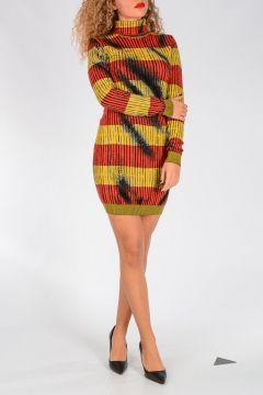 COUTURE! Virgin Wool Short Dress
