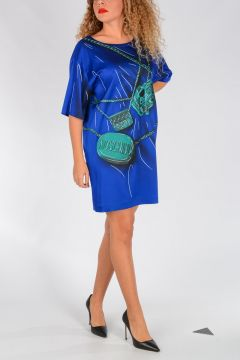 COUTURE! Bag Print Dress