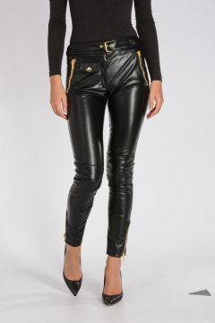 COUTURE Faux Leather Pants
