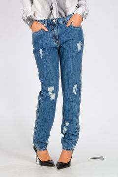 COUTURE! 13 cm Distressed Denim Jeans