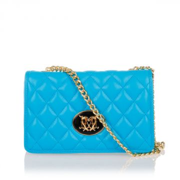 Quilted PU Leather Shoulder Bag