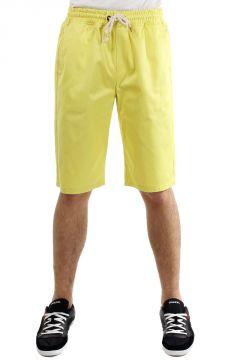 Shorts in cotone con elastico in vita