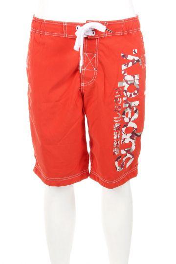 Shorts Mare con Stampa Logo
