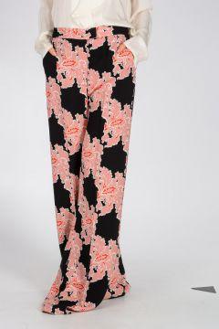Floral Pattern Harem Pants