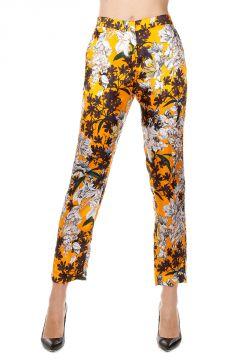 Pantaloni Capri con Stampa Floreale