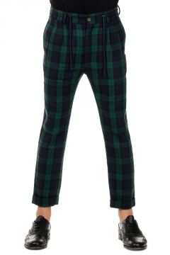 Wool Blend Checked FUTURE Pants