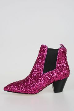 Sequined Booties