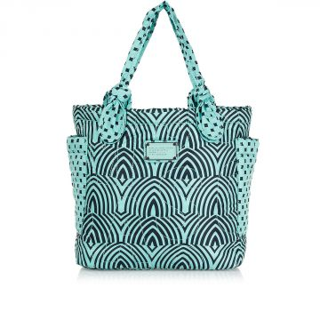 Fabric DUSTY JADE Small Shopping Bag