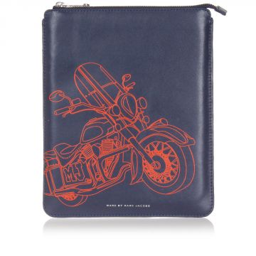 Leather Tablet Case with Print