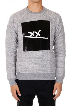 Crewneck Sweatshirt with Sequins