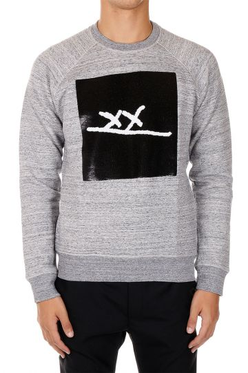 Crewneck Sweatshirt with Sequins