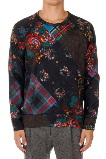 T-Shirt con Fantasia Floreale