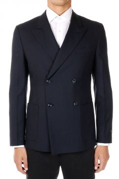 Double Breasted Virgin Wool Jacket