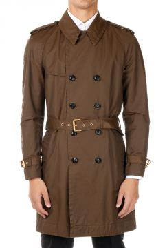 Mixed Cotton Trench Coat