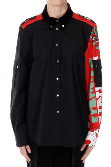 MARC BY MARC JACOBS Camicia Stampata in cotone stretch