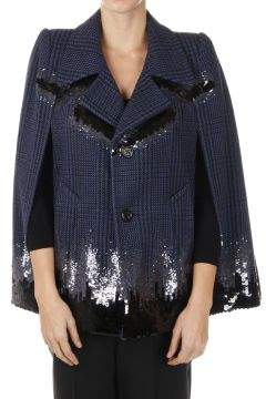 Sequined Wool Jacket