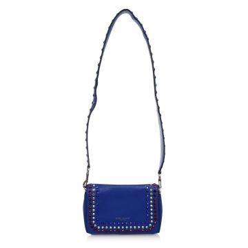 Jewel Shoulder Bag in Leather
