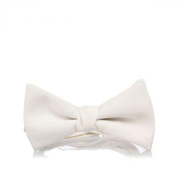 Virgin Wool Blend Bow Tie